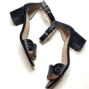 Kate Spade Black Willow Block Heel